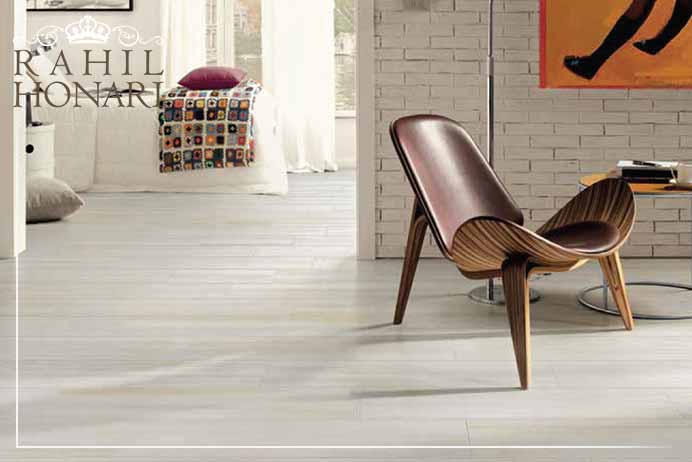 Flooring selection in interior decoration