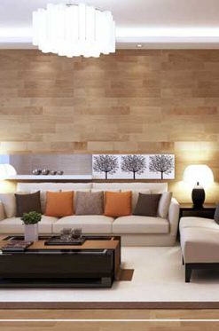 The role of wood in interior decoration
