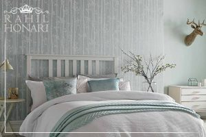 Effect of wallpaper on decoration