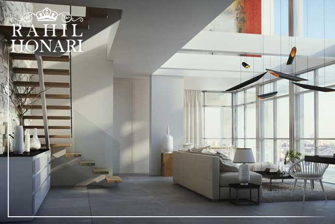 طراحی داخلی خانه های دوبلکس