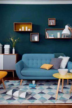 طراحی خانه با رنگ های شاد و فانتزی