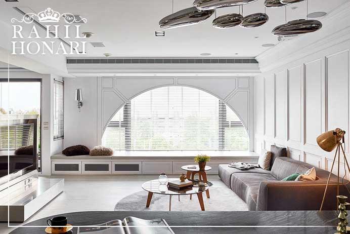 روح سبک مدرنیسم در معماری داخلی