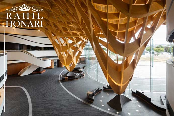 جدیدترین ایده های معماری داخلی
