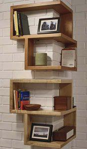 قفسههای نصبی در دکوراسیون